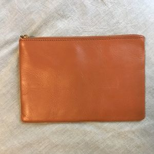 Madewell Leather Clutch